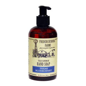 Texas Bluebonnet Handmade Hand Soap - Fredericksburg Farms