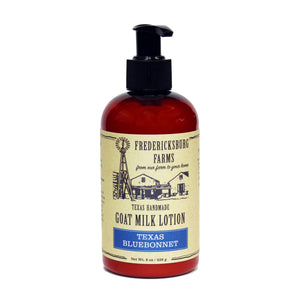 Texas Bluebonnet Goat Milk Lotion - Fredericksburg Farms