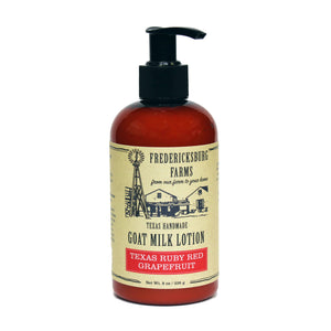 Texas Ruby Red Grapefruit Goat Milk Lotion - Fredericksburg Farms