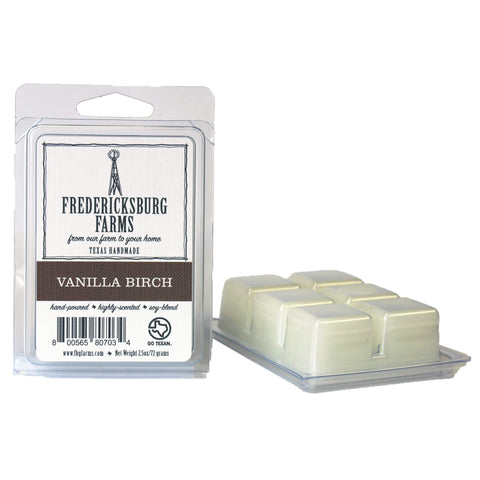 Vanilla Birch Wax Melt - Fredericksburg Farms