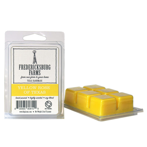 Yellow Rose of Texas Wax Melt - Fredericksburg Farms
