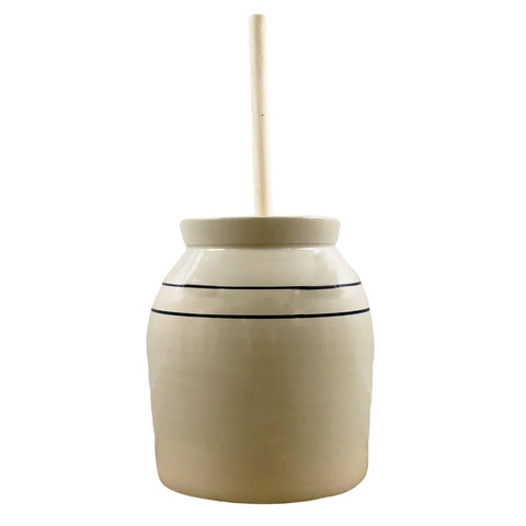 Texas Stoneware Butter Churn (5 gal) - Fredericksburg Farms