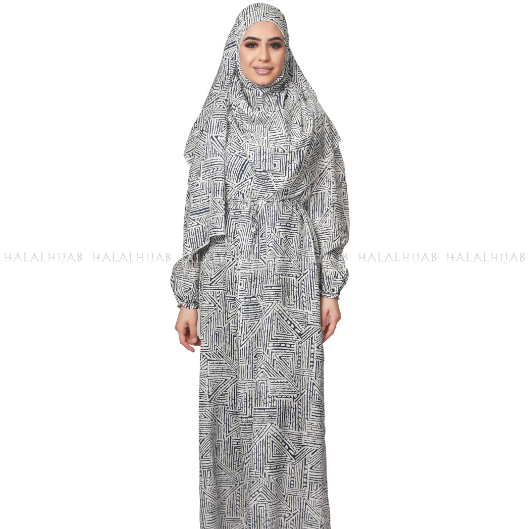 Modest Dresses with Matching Instant Hijabs