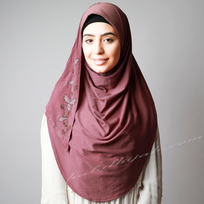 Dark dusty pink leafy Hijab online  Australia,Hijab style, Hijab fashion, How to wear Hijab? Haute,Hijab Women,  Halal Hijab House,Buy Hijab online