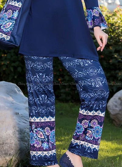 Multicolour Mandala Print Pants