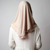 Dusty beige chiffon,Hijab Australia, Hijab Women, Hijab House, Hijab style, Hijab fashion, How to wear Hijab,