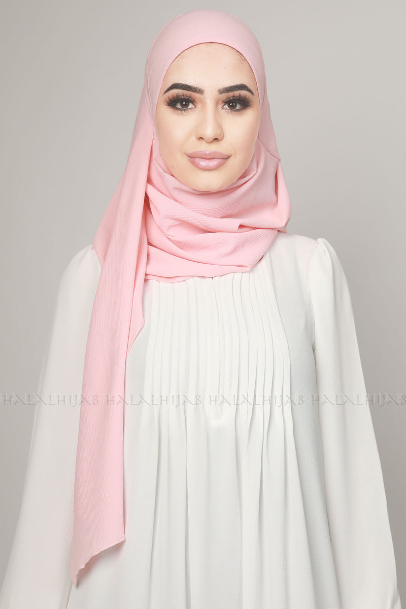 Baby Pink Instant Multi Style Hijab