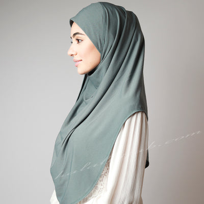Olive colour stretchy Hijab, Hijab online, Hijab Women, Hijab House, Hijab style, Hijab fashion, How to wear Hijab,