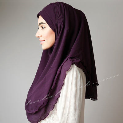 Hijab style, Hijab fashion,  How to wear Hijab, Haute,Hijab Women,  Halal Hijab House,Buy Hijab online,Purple Hijab online