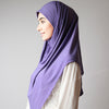 Hijab online, Hijab Women, Hijab House, Hijab style, Hijab fashion, How to wear Hijab Jacaranda Violet Crystal Dotted Stretchy Party Hijab