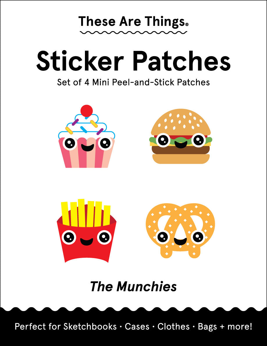 Munchies Sticker Patch Set