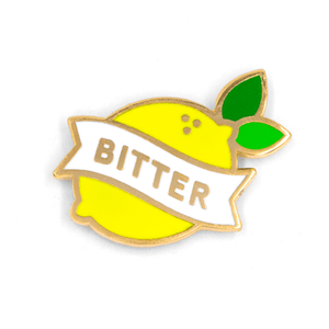 Bitter Lemon Pin