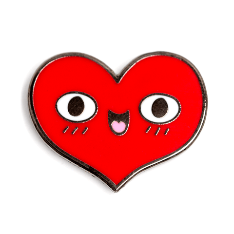 Happy Heart Pin