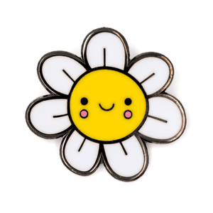 Happy Flower Pin