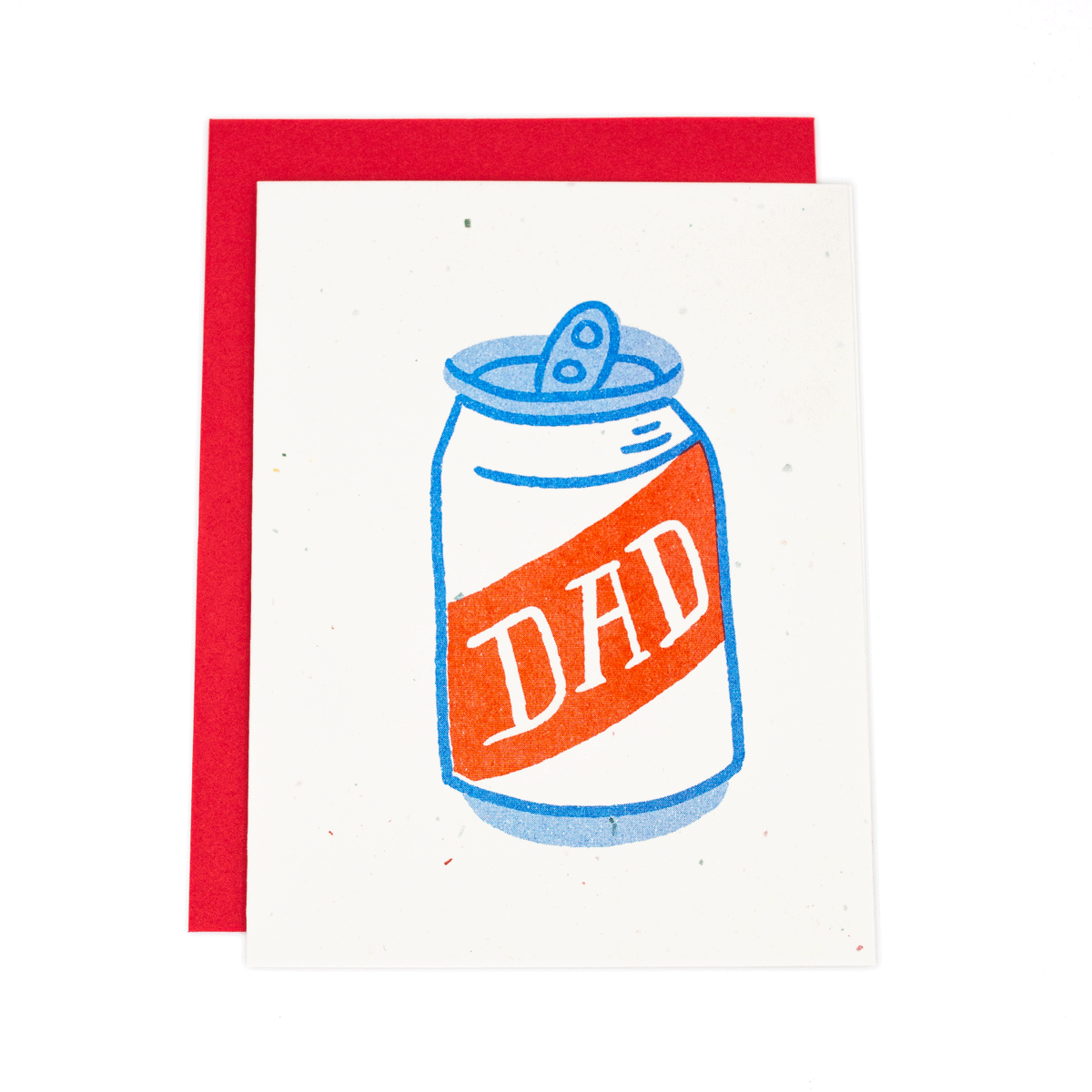 Beer Dad Risograph Card