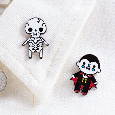 Skeleton Baby Pin