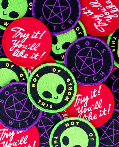 Boss Witch Patch
