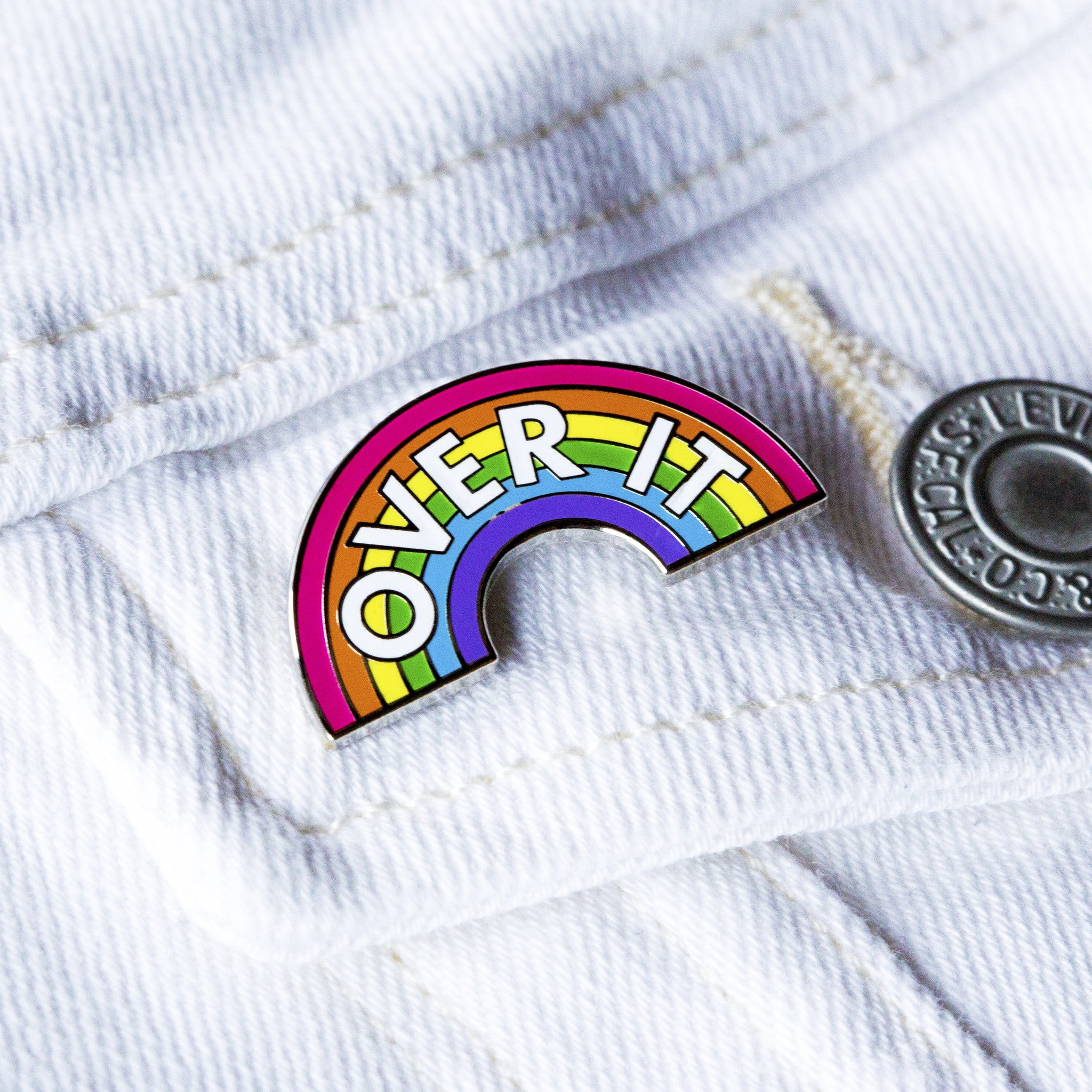 Over It Pin