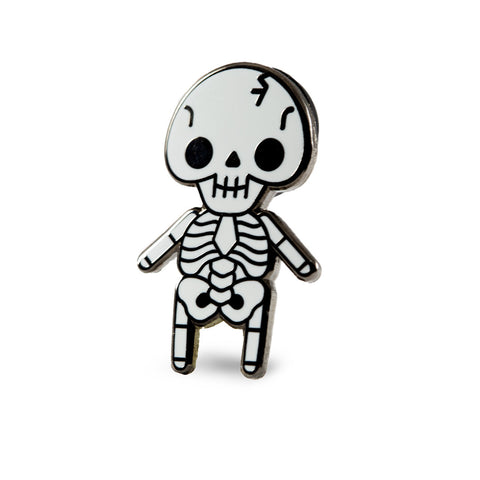 Skeleton Baby Pin – These Are Things