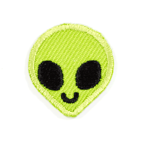 Alien Sticker Patch