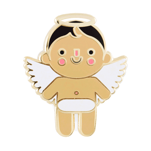 Angel Baby Pin - Medium