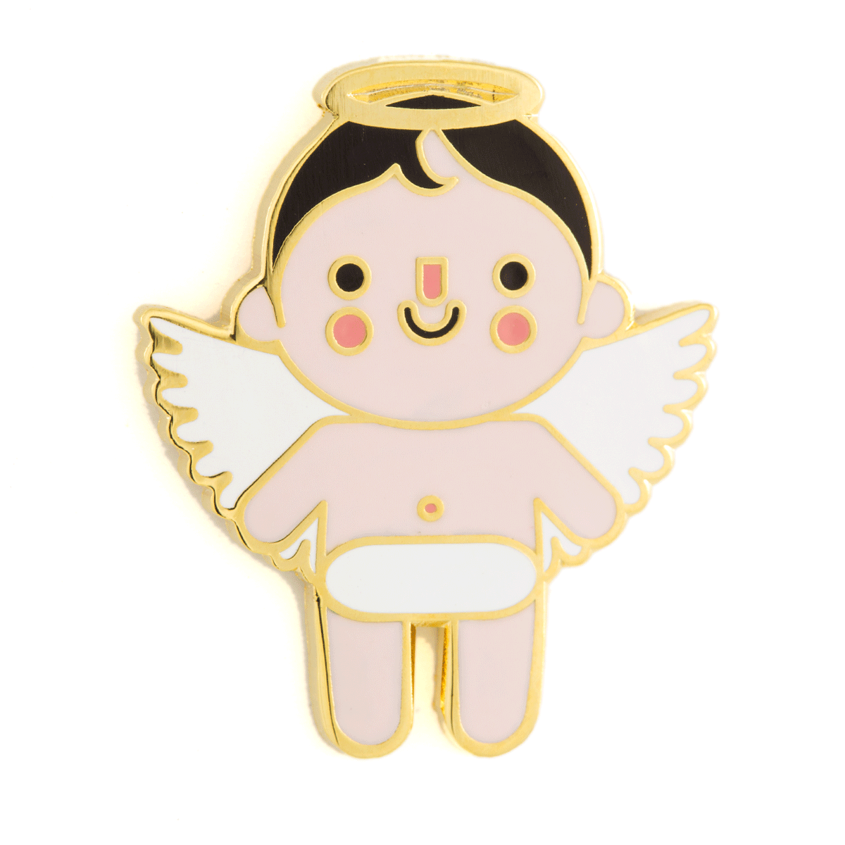 Angel Baby Pin - Light