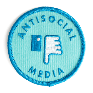 Antisocial Media Patch