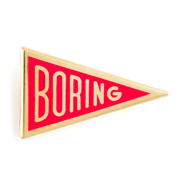 boring pin these are things
