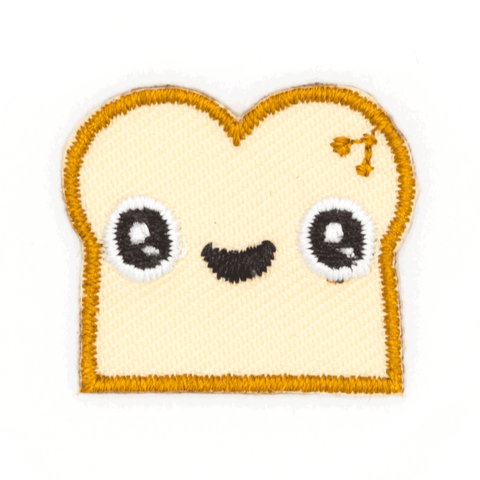 Bread Face Sticker Patch