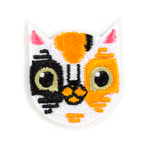 Calico Cat Sticker Patch