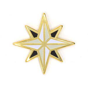 Compass Rose Pin These Are Things