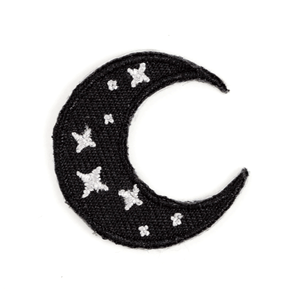 Crescent Moon Sticker Patch