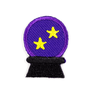Crystal Ball Sticker Patch