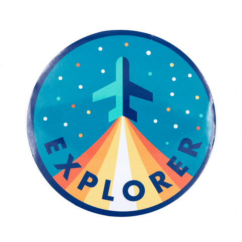 Explorer Vinyl Sticker