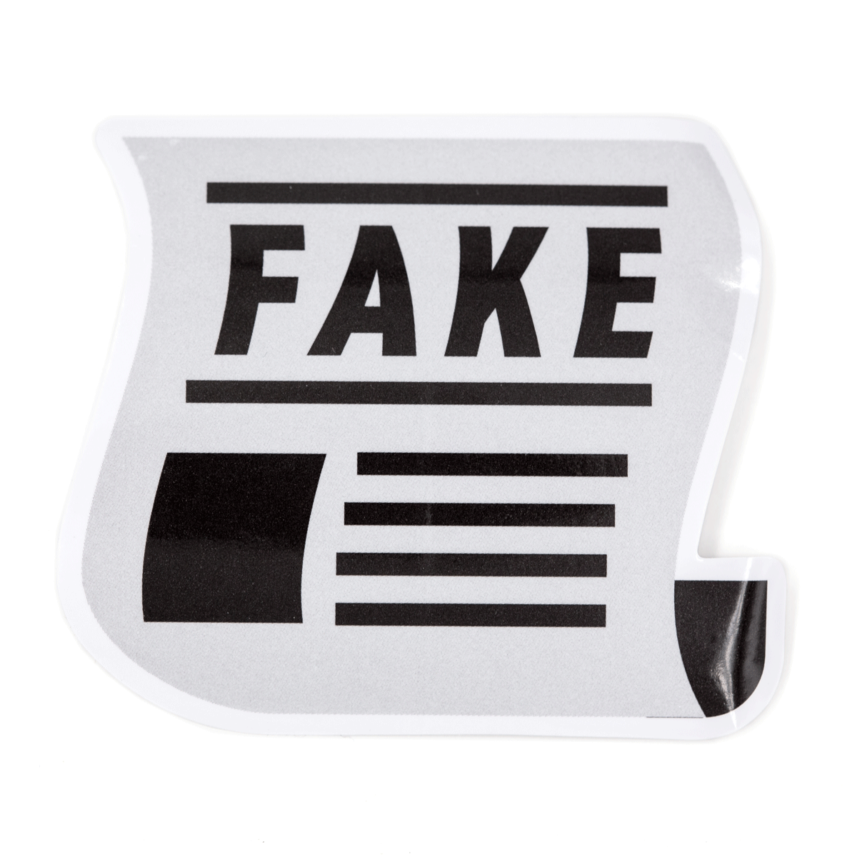 Fake News Vinyl Sticker