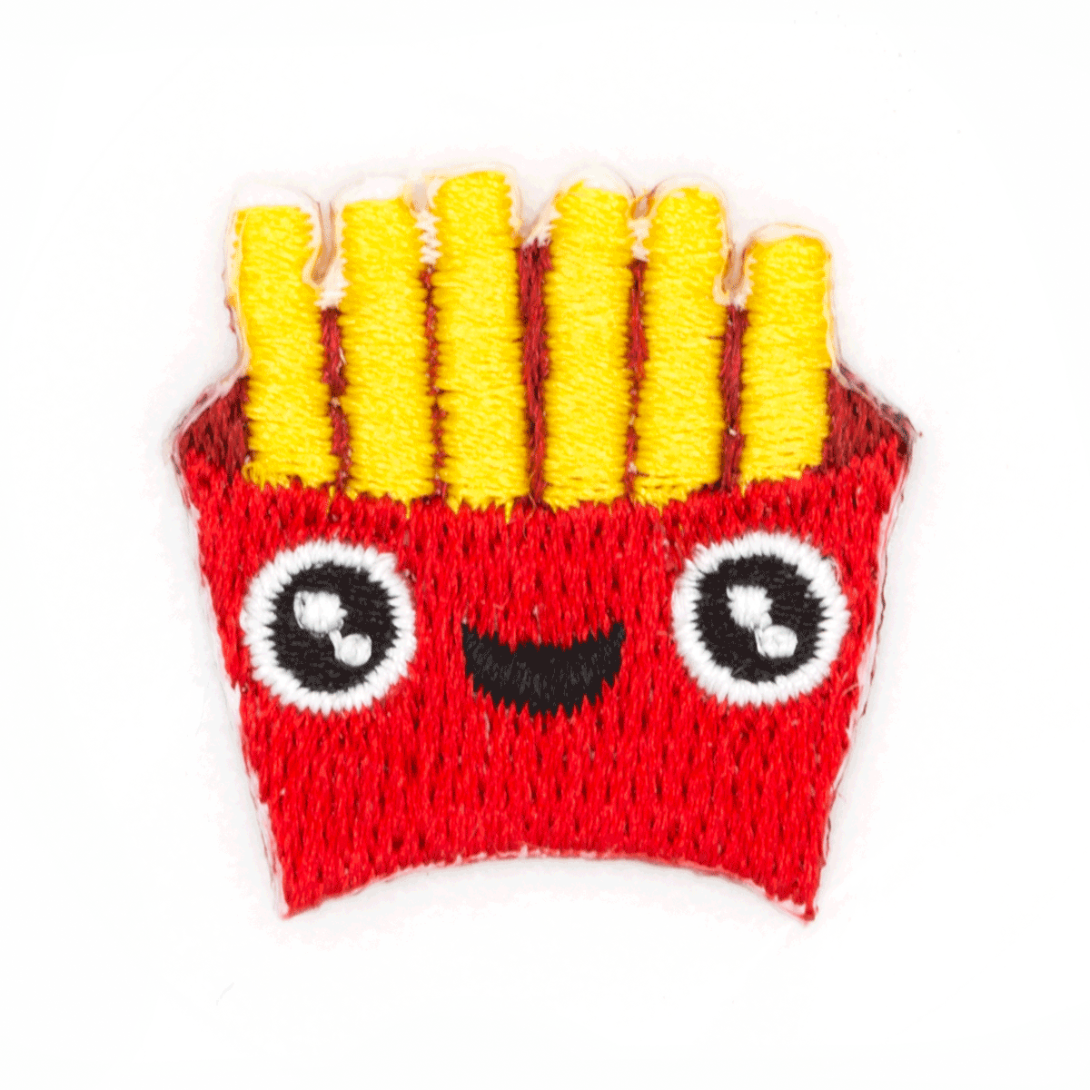 Fries Face Sticker Patch