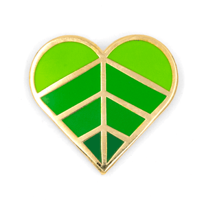 Heart Leaf Pin