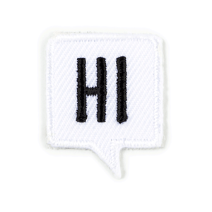 Hi Sticker Patch