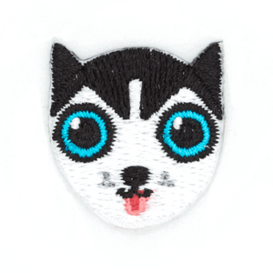 Husky Dog Sticker Patch