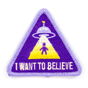 I Want To Believe Patch
