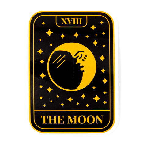 Moon Tarot Vinyl Sticker
