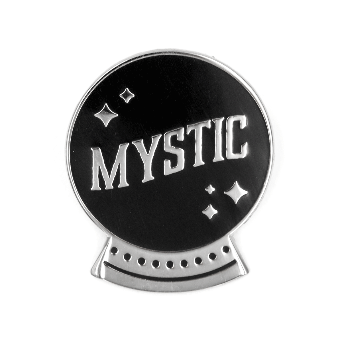 Mystic Crystal Ball Pin