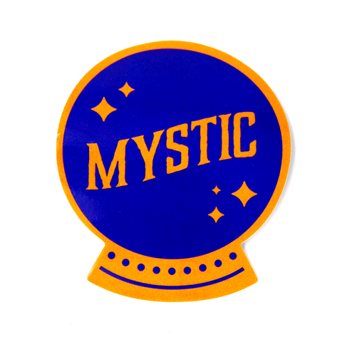 Mystic Crystal Ball Vinyl Sticker