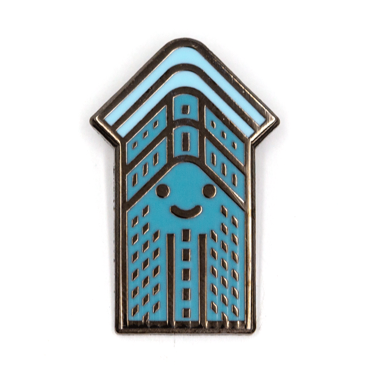 NYC Flat Iron Baby Pin