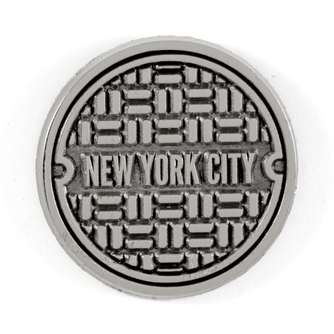 NYC Sewer Pin