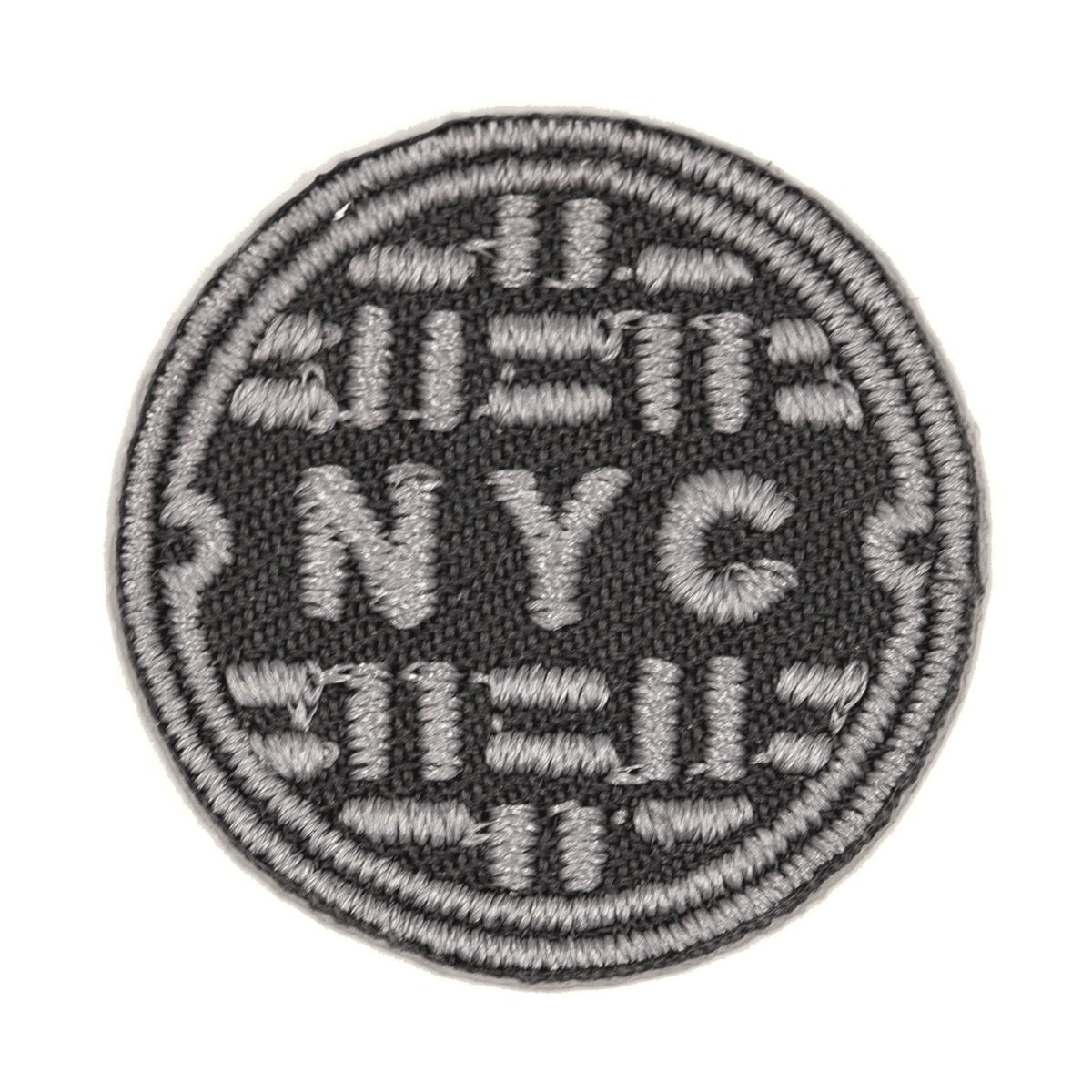 NYC Sewer Sticker Patch