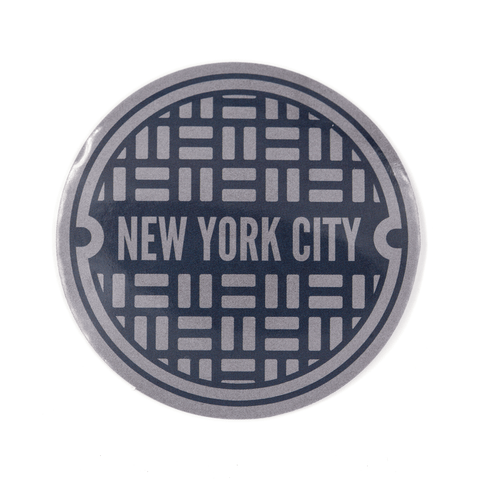 NYC Sewer Vinyl Sticker