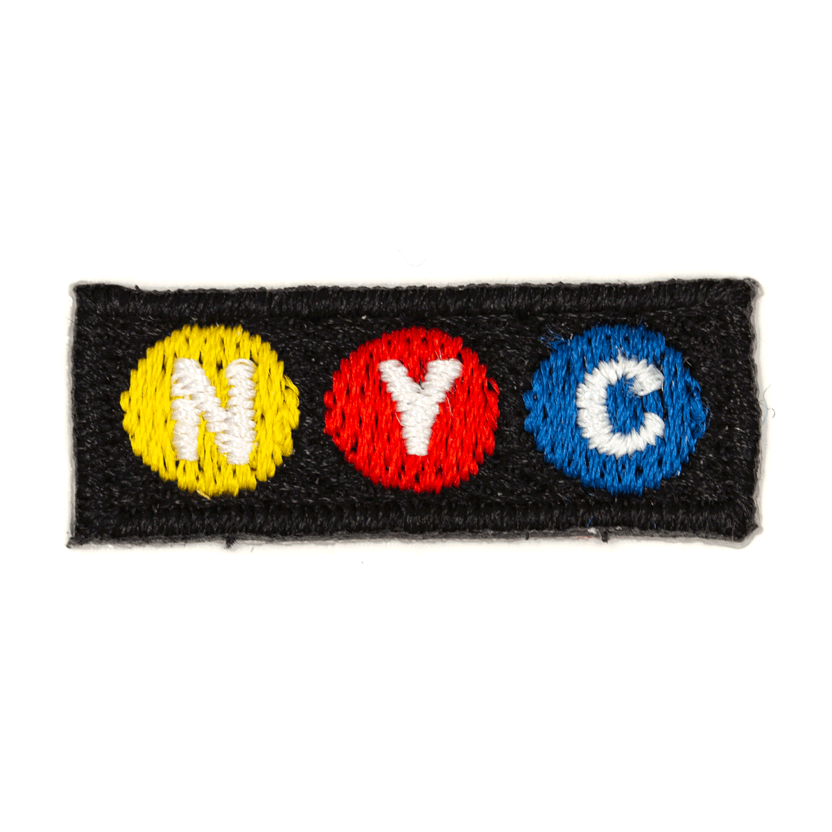 NYC Subway Sticker Patch
