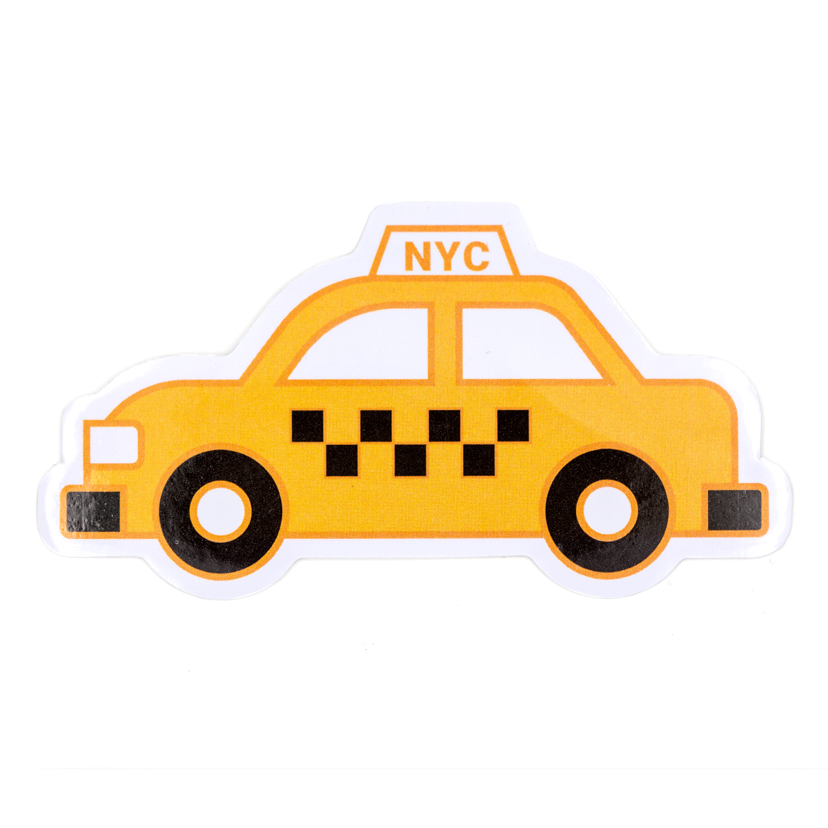 NYC Taxi Vinyl Sticker