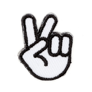 Peace Hand Sticker Patch